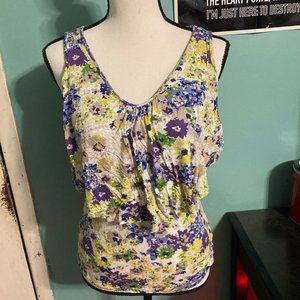 Sleeveless Floral Old Navy